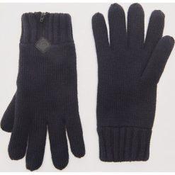 Rękawiczki z zamkiem - Granatowy. Niebieskie rękawiczki męskie marki House. Za 39,99 zł.