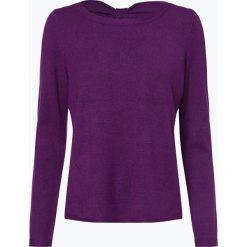 Comma - Sweter damski, lila. Fioletowe swetry klasyczne damskie comma, z kokardą. Za 359,95 zł.