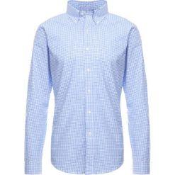 Polo Ralph Lauren NATURAL SLIM FIT Koszula blue/white. Szare koszule męskie slim marki Polo Ralph Lauren, l, z bawełny, button down, z długim rękawem. Za 419,00 zł.