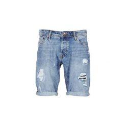 Szorty i Bermudy  Jack   Jones  RICK JEANS INTELLIGENCE. Niebieskie bermudy męskie Jack & Jones, z jeansu. Za 175,20 zł.
