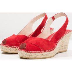 Rzymianki damskie: Vidorreta Sandały na platformie ante rojo