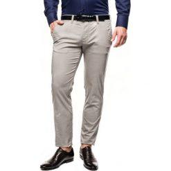 Spodnie davos 214 szary slim fit. Szare rurki męskie marki Recman, m, z długim rękawem. Za 249,00 zł.