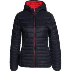 CMP WOMAN ZIP HOOD JACKET Kurtka Outdoor black/blue. Czerwone kurtki sportowe damskie marki CMP, z materiału. W wyprzedaży za 356,15 zł.