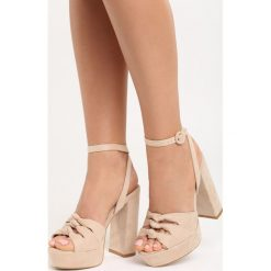 Rzymianki damskie: Beżowe Sandały Fallon