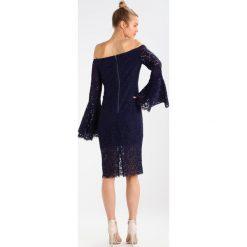 Sukienki hiszpanki: Bardot SOLANGE DRESS Sukienka koktajlowa french navy