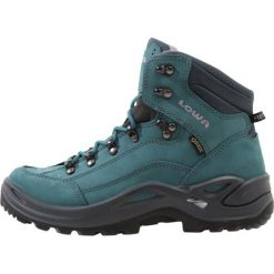 Lowa RENEGADE GTX MID Buty trekkingowe petrol. Zielone buty trekkingowe damskie Lowa. Za 809,00 zł.