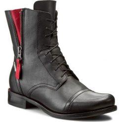 Botki LASOCKI - 70174-16 Czarny. Czarne buty zimowe damskie Lasocki, ze skóry, na obcasie. Za 279,99 zł.