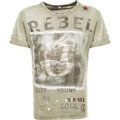 T-shirty męskie z nadrukiem: Key Largo REBELLIAN Tshirt z nadrukiem olive