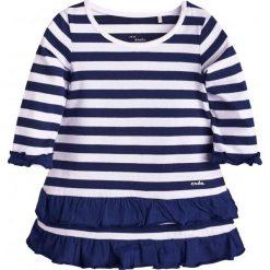Sukienki niemowlęce: Sukienka z falbankami dla dziecka 6-36 m-cy