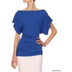 Bluzki sportowe damskie: Bluzka niebieska YY500097_RAL5005