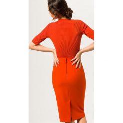 Spódniczki ołówkowe: IVY & OAK PENCIL SKIRT Spódnica ołówkowa  pumpkin red