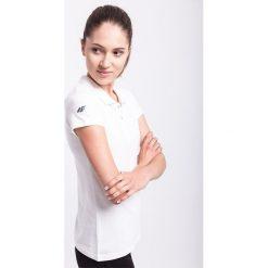 Bluzki sportowe damskie: Koszulka polo damska TSD051AZ – BIAŁY
