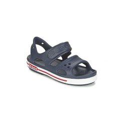 Sandały Dziecko  Crocs  CROCBAND II SANDAL PS. Niebieskie sandały chłopięce marki Crocs. Za 129,00 zł.