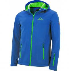 """Kurtka softshellowa """"Eldfjall"""" w kolorze błękitno-zielonym. Niebieskie kurtki sportowe męskie marki GALVANNI, l, z okrągłym kołnierzem. W wyprzedaży za 173,95 zł."""