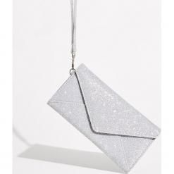 Brokatowy portfel - Biały. Białe portfele damskie marki Sinsay. Za 39,99 zł.