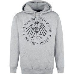 Bejsbolówki męskie: Die Toten Hosen Bis zum bitteren Ende Bluza z kapturem odcienie szarego
