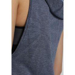 Under Armour THREADBORNE SWYFT Bluzka z długim rękawem academy light heather. Niebieskie topy sportowe damskie Under Armour, xl, z materiału, sportowe, z długim rękawem. W wyprzedaży za 254,15 zł.