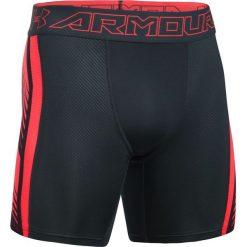 Under Armour Spodenki męskie Supervent Compression  czarno czerwone r. XL (1289573016). Szare spodenki sportowe męskie marki Under Armour, z elastanu, sportowe. Za 139,00 zł.