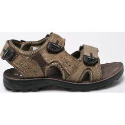 Hasby - Sandały dziecięce. Szare sandały chłopięce HASBY, z gumy. W wyprzedaży za 69,90 zł.