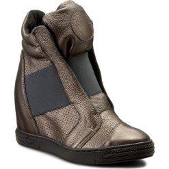Sneakersy damskie: Sneakersy ROBERTO – 528/D Miedź
