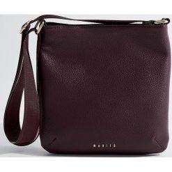 Torba na ramię - Bordowy. Czarne torebki klasyczne damskie marki B'TWIN, z materiału. Za 99,99 zł.