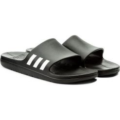 Chodaki męskie: Adidas Klapki męskie Aqualette Slide czarne r. 47 (CG3540)