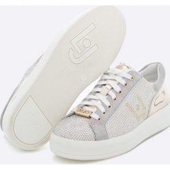 Liu Jo - Buty. Szare buty sportowe damskie marki Liu Jo, z materiału. W wyprzedaży za 499,90 zł.
