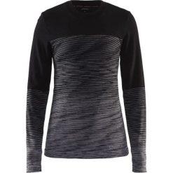 Bluzki asymetryczne: Craft Koszulka damska Wool Comfort 2.0 CN LS Czarna r. M   (1905341-999975)