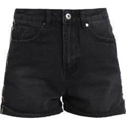 Bermudy damskie: TWINTIP Szorty jeansowe black denim