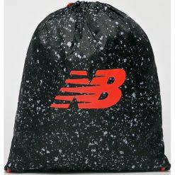 New Balance - Plecak. Czarne plecaki damskie marki New Balance, z poliesteru. Za 49,90 zł.