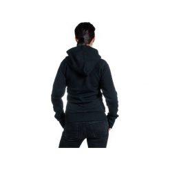 The bassman bluza bawełna organiczna. Czarne bluzy rozpinane damskie marki Slogan ubrania ekologiczne, etyczne i wegańskie, l, z bawełny, z kapturem. Za 319,00 zł.