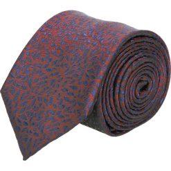 Krawaty męskie: krawat platinum bordo classic 242