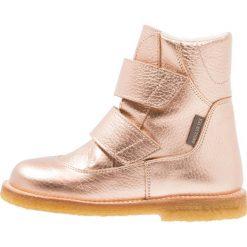 ANGULUS Botki light copper. Czerwone buty zimowe damskie ANGULUS, z materiału. W wyprzedaży za 389,40 zł.