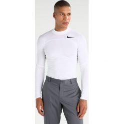 Koszulki sportowe męskie: Nike Golf BASELAYER Koszulka sportowa white/black