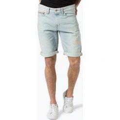 Calvin Klein Jeans - Spodenki męskie, niebieski. Niebieskie spodenki jeansowe męskie Calvin Klein Jeans. Za 329,95 zł.