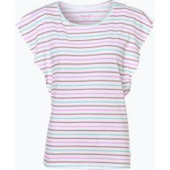 Marc O'Polo Denim - T-shirt damski, biały. Szare t-shirty damskie marki U.S. Polo, l, z aplikacjami, z dzianiny, z okrągłym kołnierzem. Za 159,95 zł.