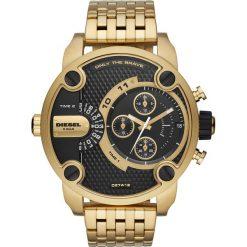 Zegarek DIESEL - Little Daddy DZ7412 Gold/Gold. Żółte zegarki męskie Diesel. Za 1399,00 zł.