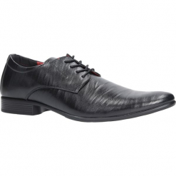 Czarne buty wizytowe sznurowane Casu FY1601A. Czarne buty wizytowe męskie Casu, na sznurówki. Za 79,99 zł.