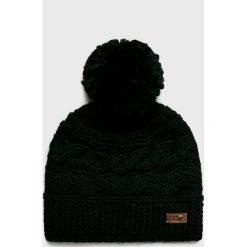 Roxy - Czapka. Szare czapki damskie Roxy, na zimę, z dzianiny. W wyprzedaży za 99,90 zł.