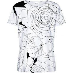 Colour Pleasure Koszulka damska CP-030 1 biało-czarna r. XXXL/XXXXL. T-shirty damskie Colour pleasure. Za 70,35 zł.