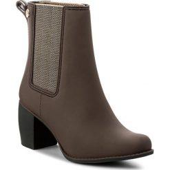 Kalosze GIOSEPPO - Belfort 37381SL Chocolate. Brązowe buty zimowe damskie marki Gioseppo, z materiału. W wyprzedaży za 159,00 zł.