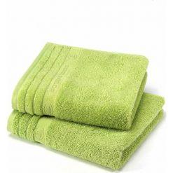 Kąpielówki męskie: Ręcznik w kolorze jasnozielonym