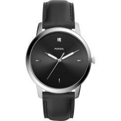 Zegarek FOSSIL - The Minimalist 3H FS5497  Black/Silver. Różowe zegarki męskie marki Fossil, szklane. Za 599,00 zł.