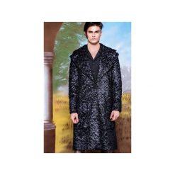 Płaszcze na zamek męskie: Płaszcz z tkaniny imitującej sprasowane pióra