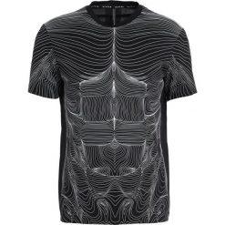 Neil Barrett BLACKBARRETT TOPOGRAPHY Tshirt z nadrukiem black/white. Czarne koszulki polo marki Neil Barrett BLACKBARRETT, m, z nadrukiem, z bawełny. W wyprzedaży za 440,30 zł.