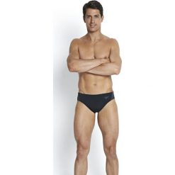 Slipy męskie: Speedo Slipy męskie 7cm Monogram Brief Endurance+ Black/USA Charcoal r. M (8-087418815)