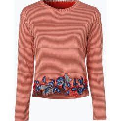 Marc Cain Collections - Koszulka damska, czerwony. Czerwone t-shirty damskie Marc Cain Collections, z haftami. Za 379,95 zł.
