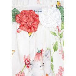 Mayoral - Komplet dziecięcy (top + spódnica) 80-98 cm. Szare bluzki dziewczęce bawełniane Mayoral, z haftami, z krótkim rękawem. Za 154,90 zł.
