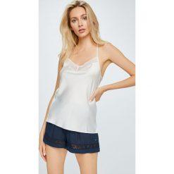 Etam - Top piżamowy. Niebieskie piżamy damskie marki Etam, l, z bawełny. W wyprzedaży za 59,90 zł.