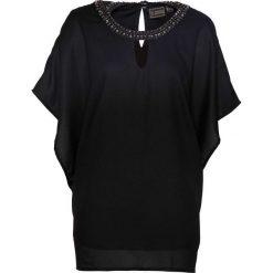 Tunika bonprix czarny. Czarne tuniki damskie bonprix, z okrągłym kołnierzem. Za 119,99 zł.